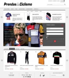 New Prendas Ciclismo Website